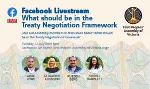 Facebook Livestream event flyer
